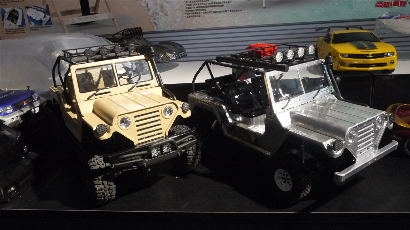 盘点模型展上那些车模