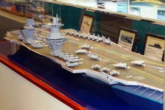 俄航母比中国帅可惜还是个模型