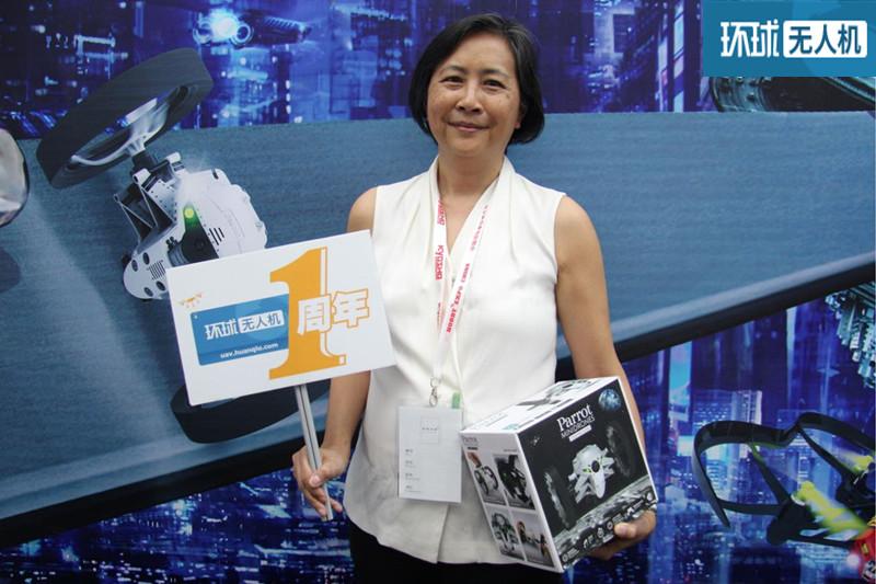 环球网专访Parrot亚太执行总裁:我们坚持特立独行 一直坚持做自己