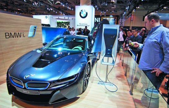我国成全球最大新能源汽车市场 年产量突破38万