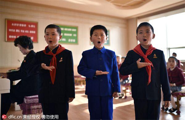 走进朝鲜万景台少年宫 琴棋书画样样齐全