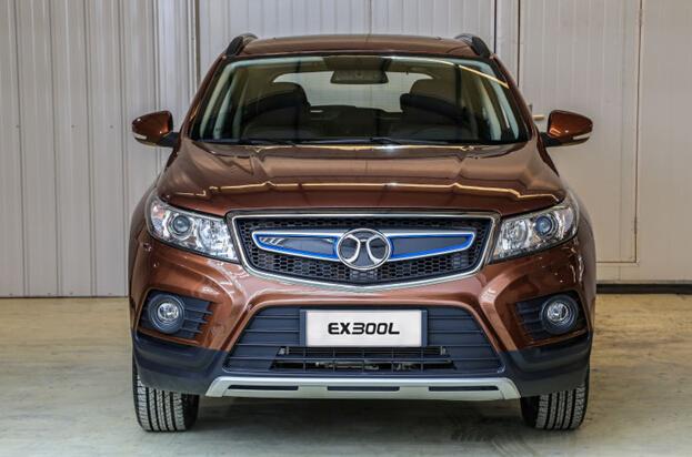 A级SUV曝光 北汽新能源EX300L纯电动SUV将于北京车展首发-新车高清图片
