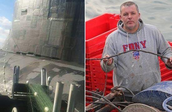 美军核潜艇被渔网缠住画面曝光