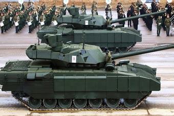 俄罗斯胜利日阅兵武器提前看
