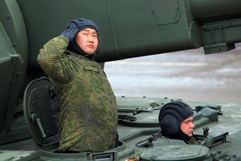 实拍俄军阅兵彩排士兵精神风貌
