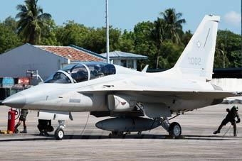菲律宾空军也来晒自家宝贝