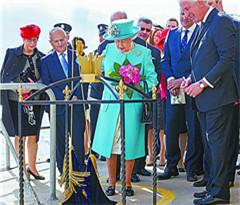 英联邦绕着地球铺女王大道
