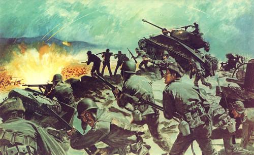 抗美援朝砥平里战役惨烈:每个排都有堵枪眼的