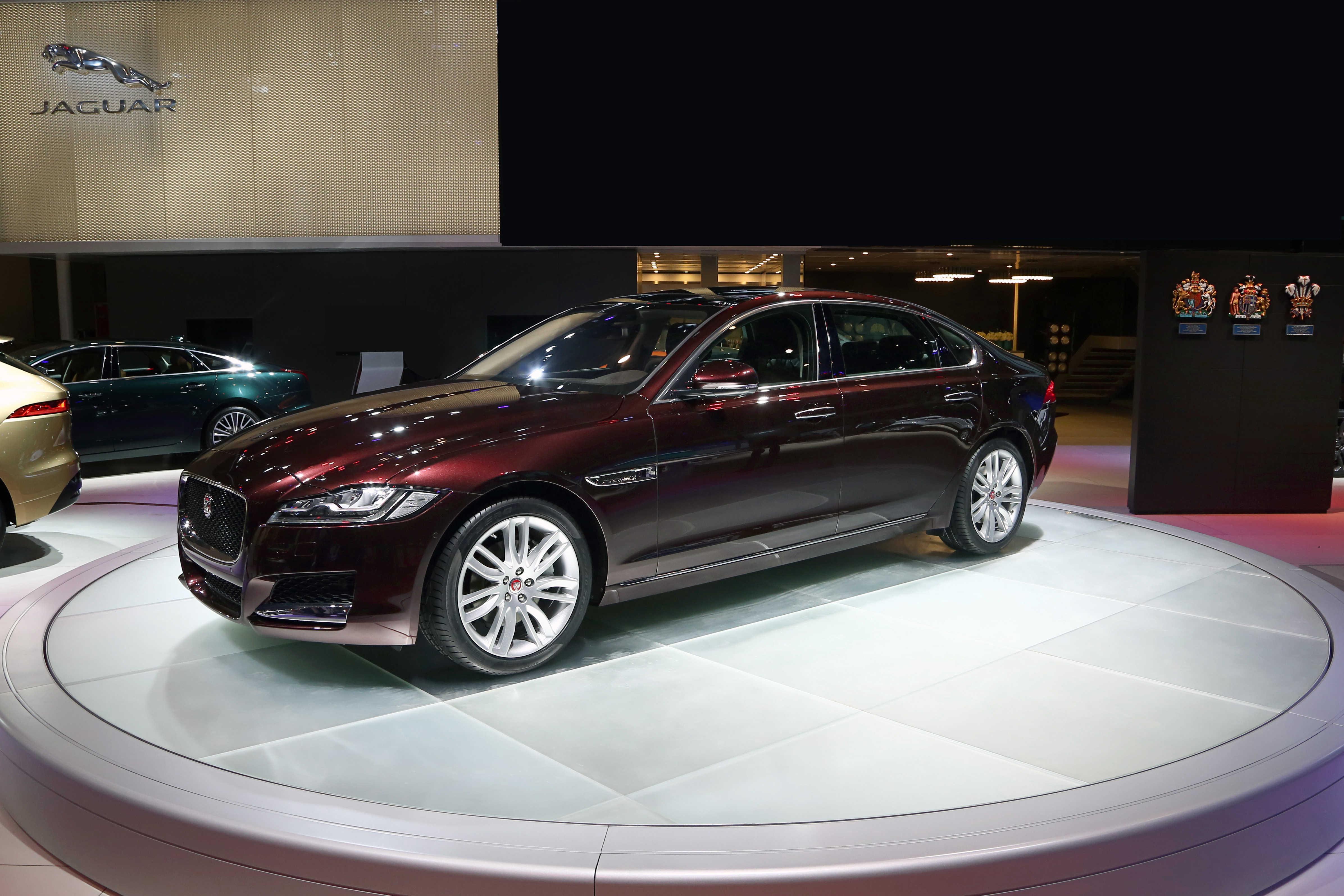 奇瑞捷豹路虎捷豹XFL长轴距版北京车展首发高清图片