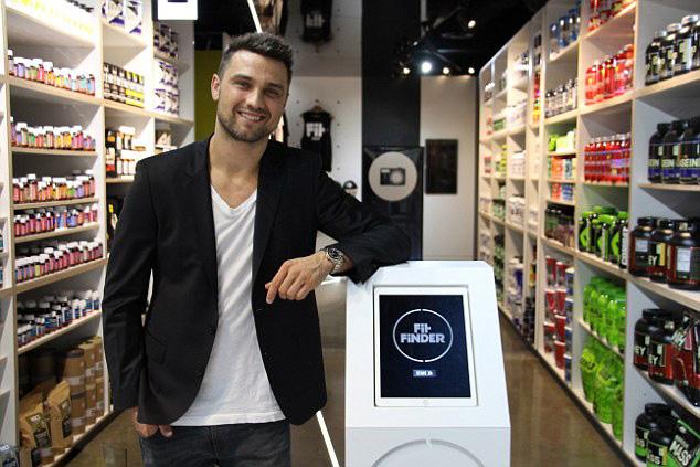 澳高科技食品店1分钟用iPad帮顾客选择健康食品
