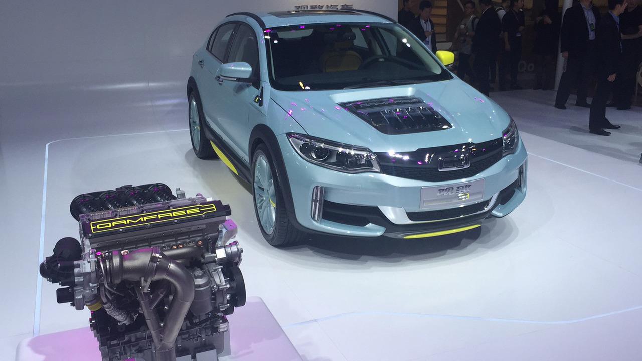 观致Qamfree无凸轮轴发动机技术北京发布