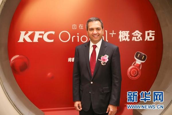 百胜中国CEO潘伟奇:分拆后意味着更多发展机遇