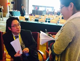 日本共同社中文网总编接受本网记者专访