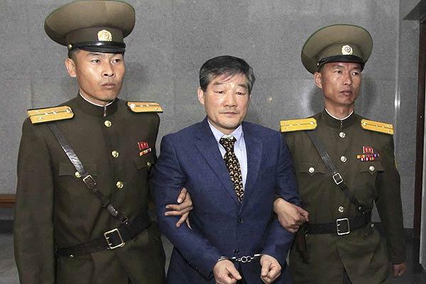 朝鲜判处美籍韩国人金东哲10年劳动教养