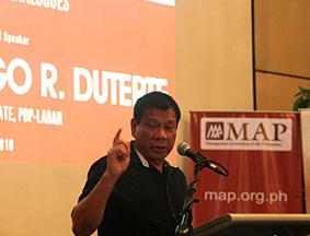 菲律宾总统大选民调:达沃市长继续领先