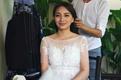 滑雪女王李妮娜泰国拍婚纱照 变身最美新娘