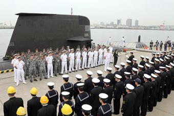 日本将为澳皇家海军建12艘新一代潜艇