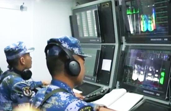 052D合肥舰作战室画面首度曝光