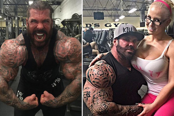 美141公斤壮汉18岁起服用类固醇肌肉惊人