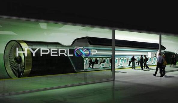 最高时速1200Km/h 美国正式研发磁悬浮超级高铁