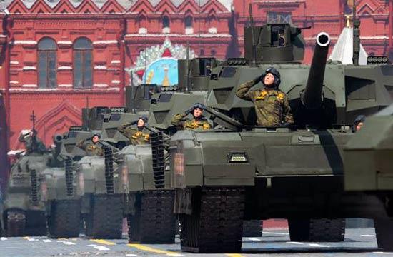 俄罗斯胜利日阅兵武器看个遍