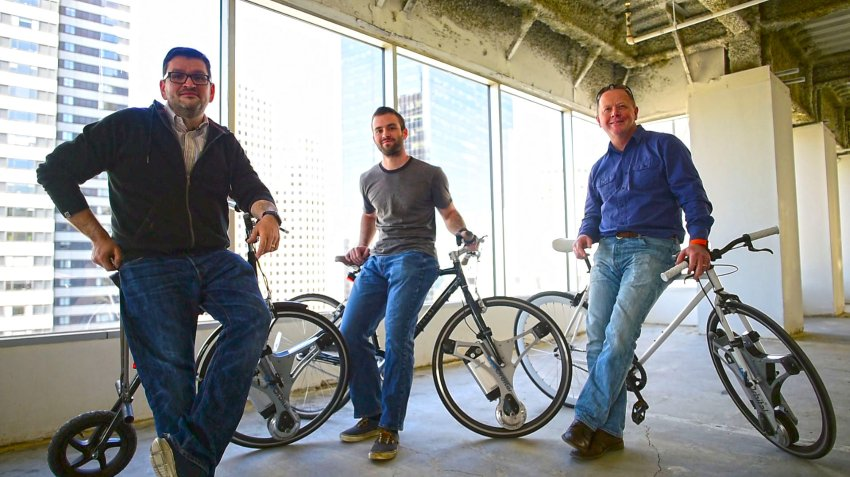 自行车秒变电动车 GeoOrbital电动自行车轮发布