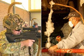 澳军新武器山寨了中国弹棉花?