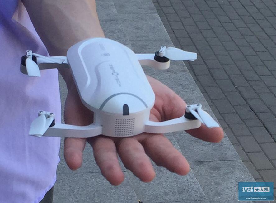 飞行的骁龙801?零度智控掌上自拍无人机谍照曝光