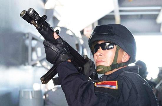 052C舰特战队员亮相东盟联演