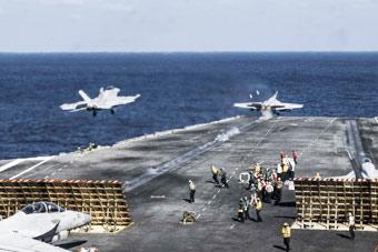 外交部严厉警告美军在南海作为