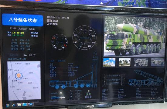 国产作战指挥系统惊现东风21