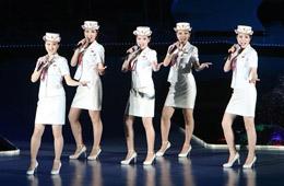 朝鲜牡丹峰乐团舞姿迷人