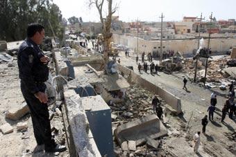 伊拉克血腥的一天近百人惨死