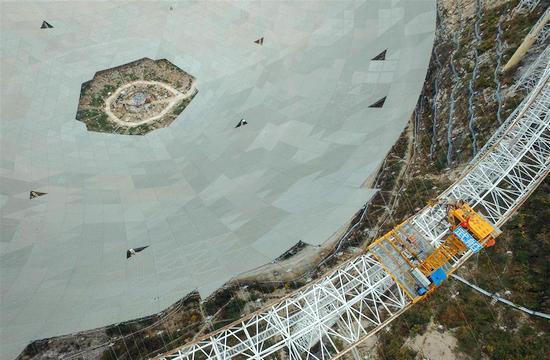 中国天眼望远镜可寻找外星人