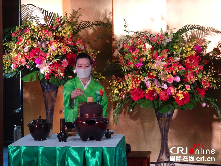 日本静冈县知事:愿和中国携手为茶文化申遗(组图)