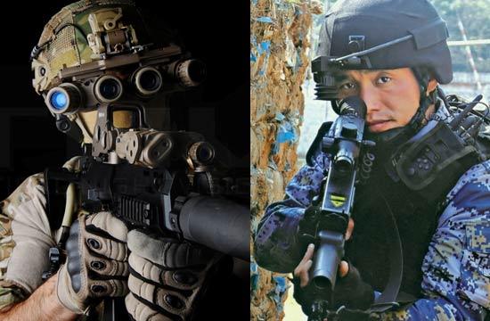 谁更强悍?中美单兵装备比拼