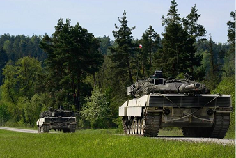 2016北约坦克赛于德国举行