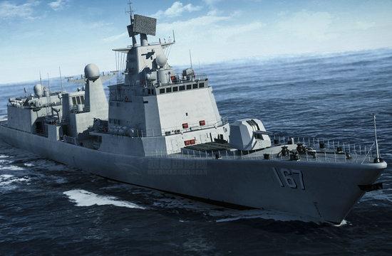 改装后的中国海军深圳舰什么样