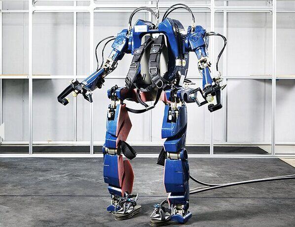 现代汽车集团研发可穿戴机器人 外形酷似钢铁侠