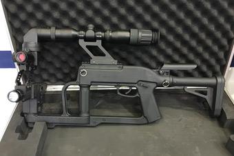 细看国产拐弯枪造型挺奇特