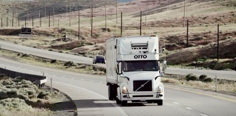谷歌前高管创办公司Otto 研发卡车无人驾驶技术