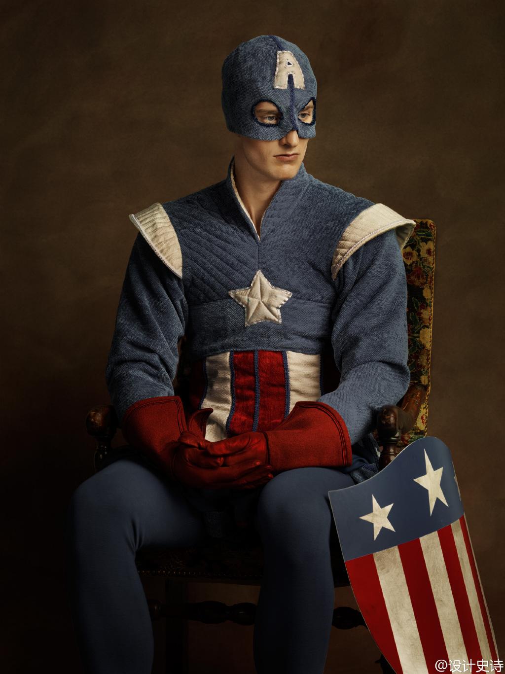 如此优雅的超级英雄你觉得违和吗?