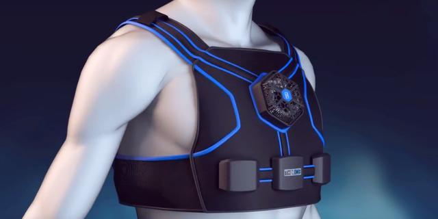 太感人!穿上这件智能背心 你就能帮你减肥