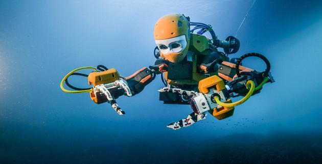 类人型机器人成功打捞沉船:可代替人类探索大海