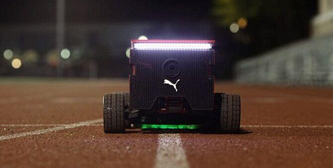 和博尔特一样快!彪马推出赛跑训练用机器人