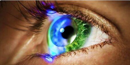 眨眨眼就能录像!索尼研发智能隐形眼镜