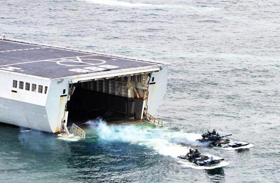 长白山舰起航赴泰参加联训