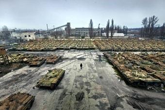 看看世界各地的坦克坟场