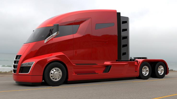 尼古拉汽车推出电动卡车头 最大续航1931公里