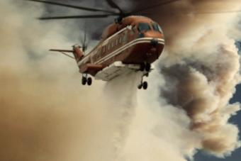 国产直升机酷炫大片 AC313威武灭火